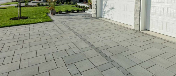 Blu Pavers Emulate The Polished Look Of Natural Slate And Because Their 80mm Height Are Optimal Choice For Lications Exposed To Vehicular Traffic