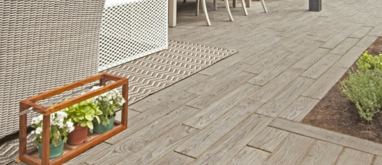 Borealis Slabs Bring The Character Of Hardwood Flooring To Your Outdoor Living E With Its Ealing Wood Grain Look These Are Perfect Choice